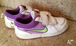Nike sport shoes. Worn but very clean and in very good
