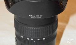 12-24mm f/4G IF-ED AF-S DX Zoom-Nikkor Lens from Nikon