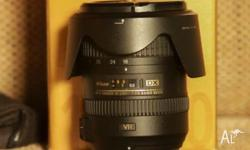 Up for sale is Nikon AF-S DX NIKKOR 18-200mm f3.5-5.6G