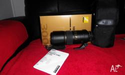 i have a nikon 300-f/4 lens for sale,its in top