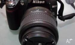 I am selling Nikon D3000 SLR with 18-55mm and 55-200mm