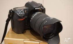 Nikon D300 12.3 MP Digital SLR Camera, serial no.
