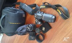 Nikon D3100 Digital SLR camera in excellent condition.
