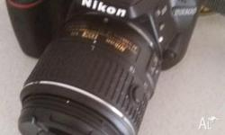 Nikon D3300 DSLR for sale comes with carry case, audio