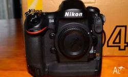 For sale a Nikon D4 DSLR Camera features a full-frame,