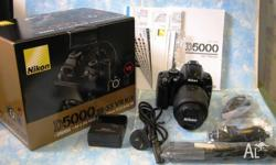Complete camera package - near new - selling due to