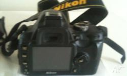 For Sale . Nikon D60 Digital camera , used once for a