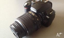 Nikon D60 in good used condition. No issues at all with