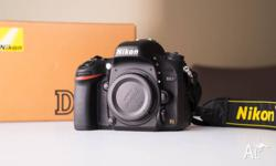 For sale is a Nikon D610 in excellent condition. The