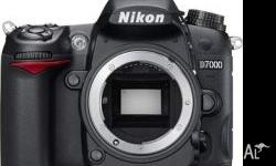 The D7000 is a mid-class DX-format camera with a