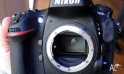Selling my Nikon D800 - body only. It is in great