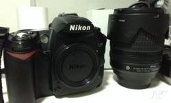 Hi there! I'm selling my Nikon D90 because I rarely