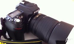 Use Nikon D90 with kit lens 18-105mm : (with light use
