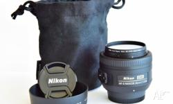Excellent all-purpose prime lens for Nikon DX camera.