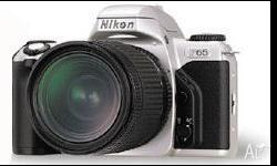 Up for sale is my beloved nikon f65 camera. Very rare