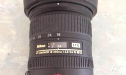 Have for sale a much loved Nikon Nikkor 18-200mm