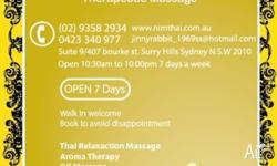 - Traditional Massage - Oil Massage - Cupping - Ear