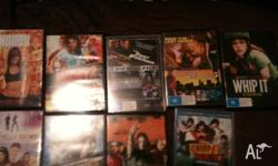 Nine awesome DVDs! - honey - honey 2 - fast and furious