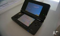Up for sale is an as new Black Nintendo 3DS. It doesn't
