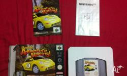 Nintendo 64 Beetle Adventure racing Game with box and