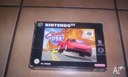 Nintendo 64 Game Cruis`n USA Boxed with Instructions in