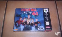 Nintendo 64 Game Fighting Force 64 Boxed Complete Mint