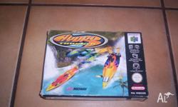 Nintendo 64 Game Hydro Thunder Boxed with Instructions