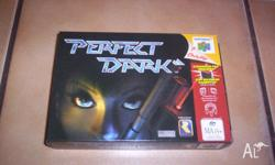 Nintendo 64 Game Perfect Dark Boxed Complete Mint