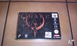 Nintendo 64 Game Quake Boxed Complete with Instructions