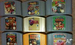Nintendo 64 Games N64 RARE Calls & Emails only, NO
