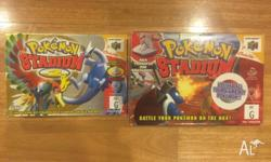 Pokemon stadium 1 (Box cart and transfer pak) Pokemon