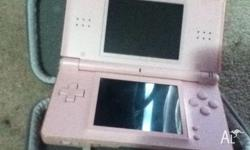 I am offering a pink nintendo ds, with charger. These