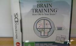 Nintendo DS Brain Training game in excellent condition.