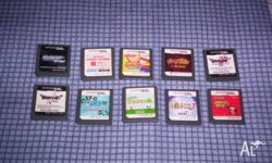 Nintendo DS Games Japan Version x 10 (Cartridge Only) I
