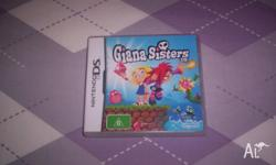 Nintendo DS Giana Sisters (Rare and Very Hard to Get)