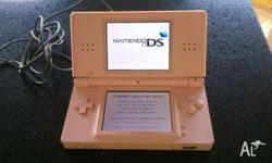 Nintendo DS Lite Pink. Very good condition, no