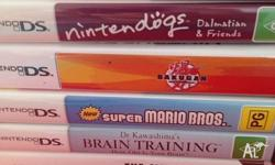 Various games available all come with original case