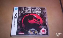 Nintendo DS Ultimate Mortal Kombat Game (Boxed with