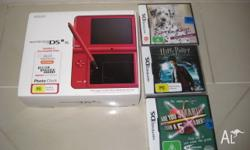 Have a Red Nintendo DSi XL in excellent condition, as
