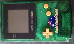 Nintendo Game boy Colour (GBC). Limited edition Ozzie