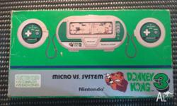 Hi there. I have for sale a Nintendo Micro VS. System