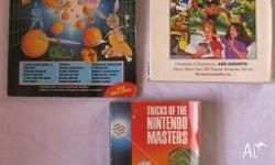 Titles are: Tricks of the Nintendo Masters, 280 pages,