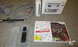 Nintendo wii console with all cords etc 1 controller 1