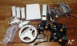 Console: Nintendo Wii Console (Factory Reset) with