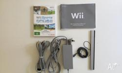 Nintendo Wii Console Excellent Condition In Box with