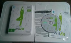 for sale is wii fit board and game. Pickup from