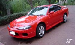 nissan 200sx s15 1999 2ltr 4cyl petrol manual wrecking