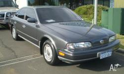 NISSAN,INFINITI,1990, Grey, 4D SEDAN, 8cyl, UNLEADED