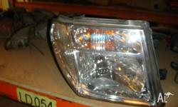 nissan navara 2003 right hand headlight in very good