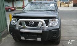 NOW WRECKING ALL NISSAN NAVARA MODELS , D-22 FROM 1997